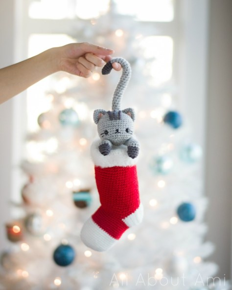 Chester Cat Stocking