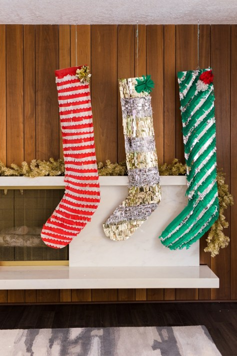 Oversized Paper Stockings