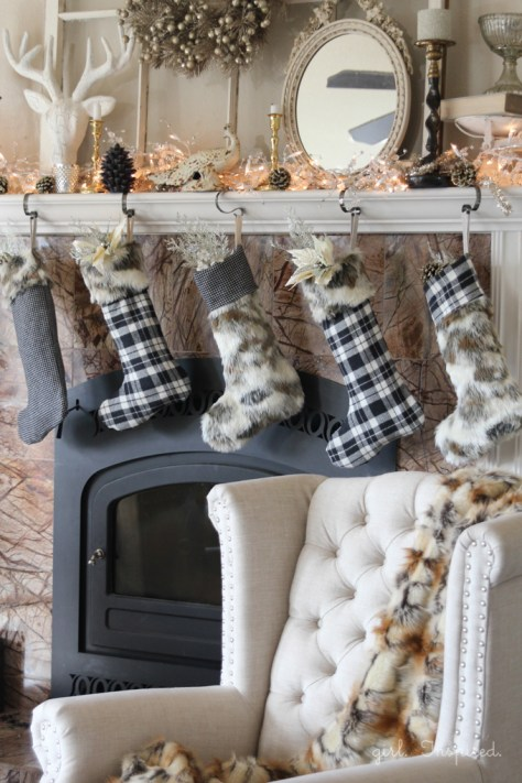Fur and Flannel Stockings