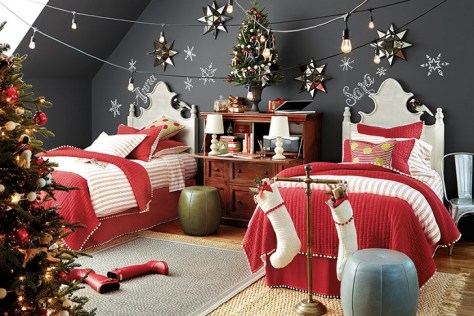 Christmas Bedroom For Kids