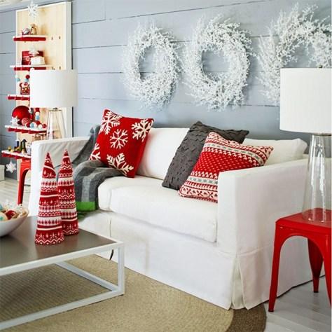 Scandinavian Christmas Pillow