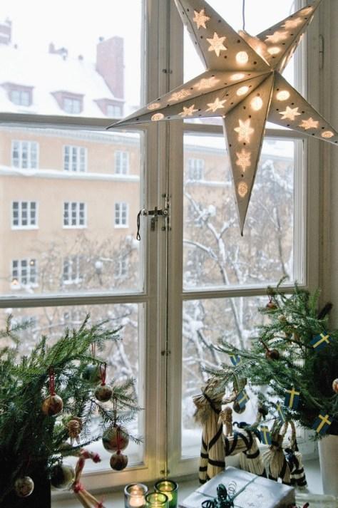 Scandinavian Christmas Window