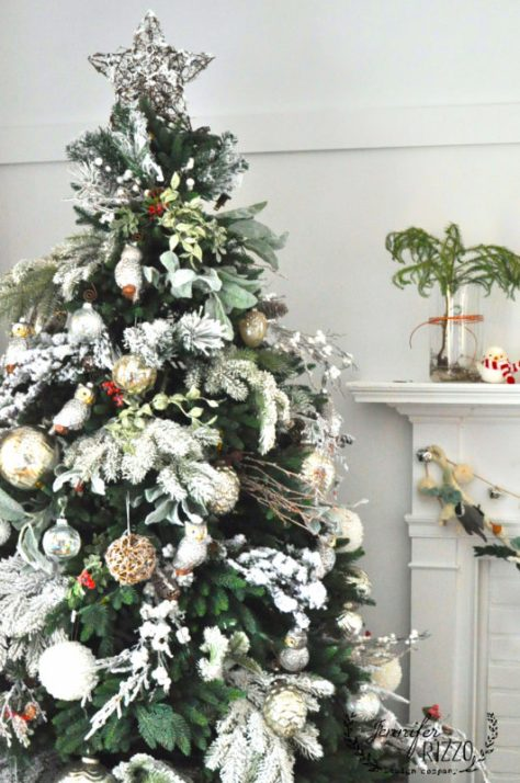 Forest Themed Christmas Tree