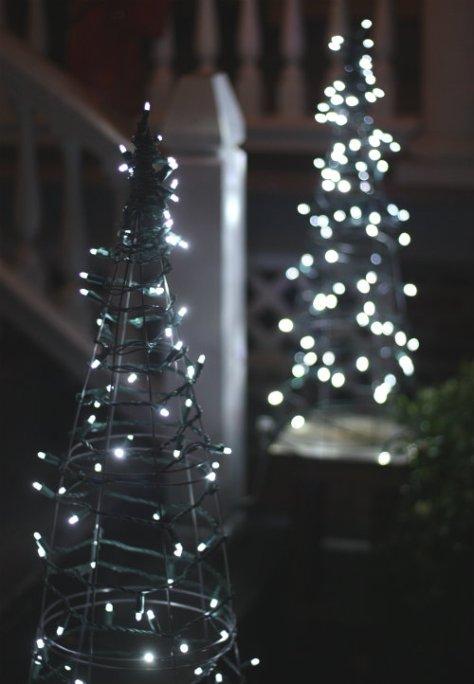 Tomato Cage Christmas Trees