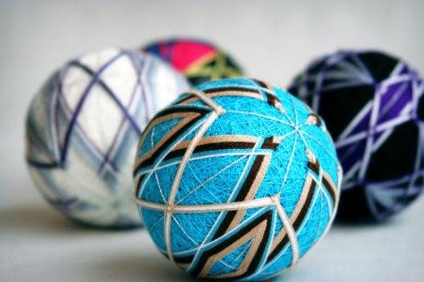 Japanese Christmas Balls