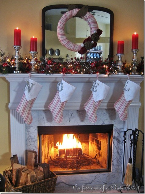 French Ticking Mantel