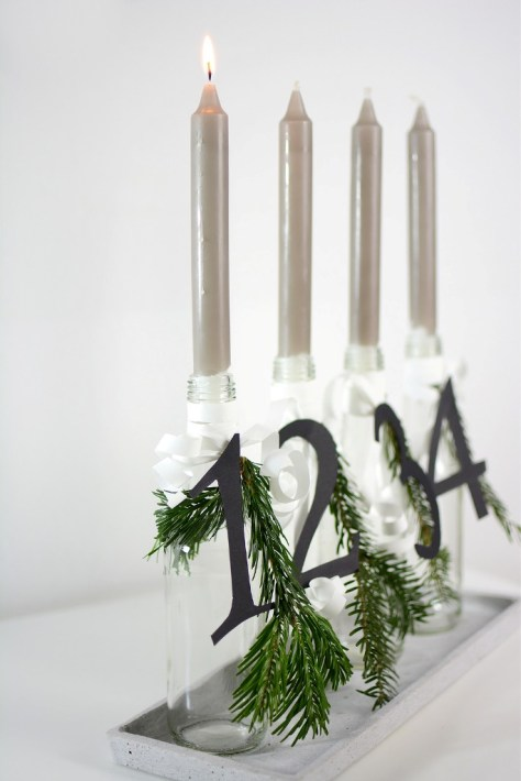 Advent Candles Wreath