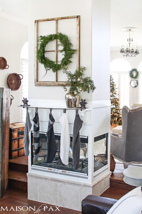 Kid Friendly Fireplace Decor