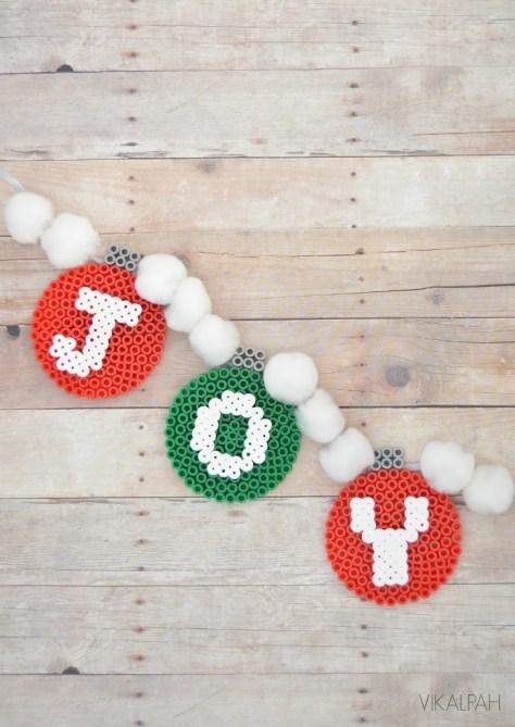 Perler Beads Garland