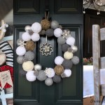 40 Gorgeous DIY Ideas For Christmas Wreaths Decorations