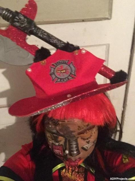 Fire Gal Makeup Tutorial