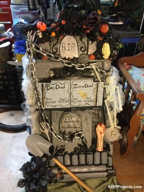 Tombstone Halloween Decoration