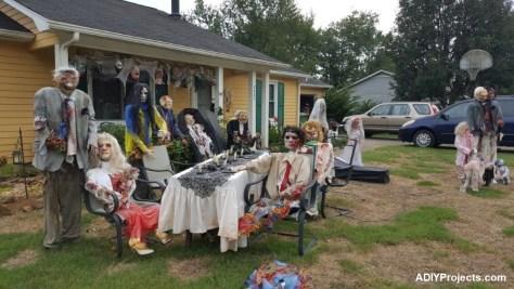 Zombies Halloween Decorations