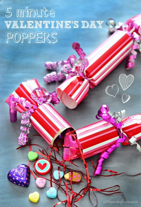 DIY Poppers for Valentines Day