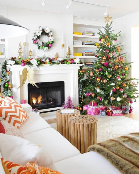 Colorful Living Room Decor