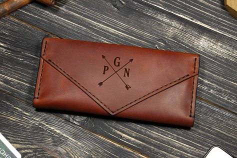 Leather Wallet Woman