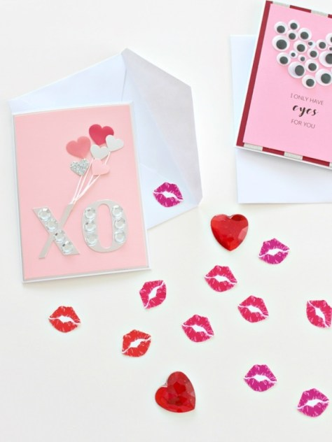 Card With Lips Envelope Seals