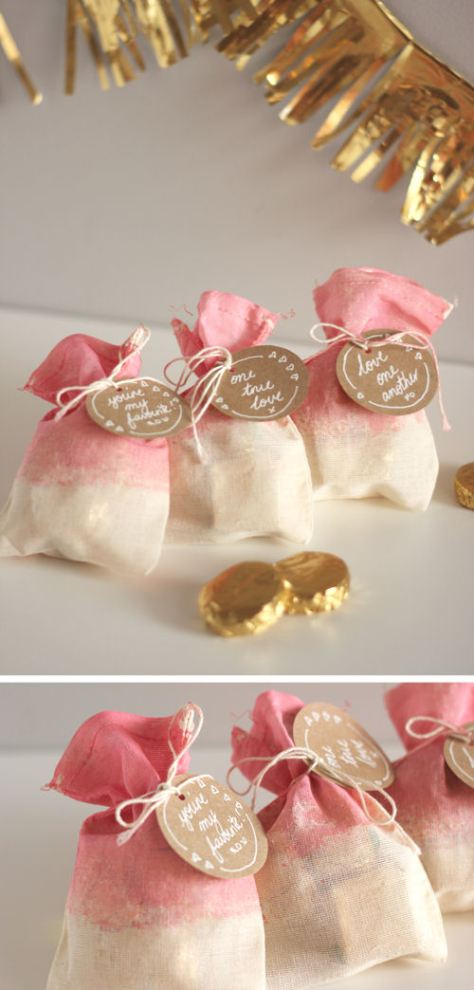 Dip-Dyed Treat Bags