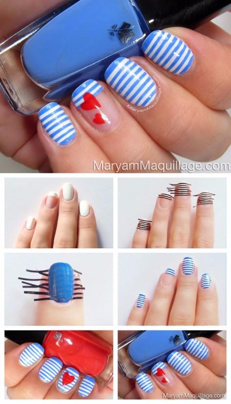 Sailors Heart Nails