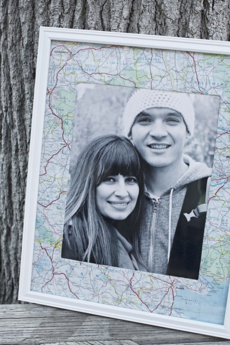 Travel Picture Frame of Your Travels Together