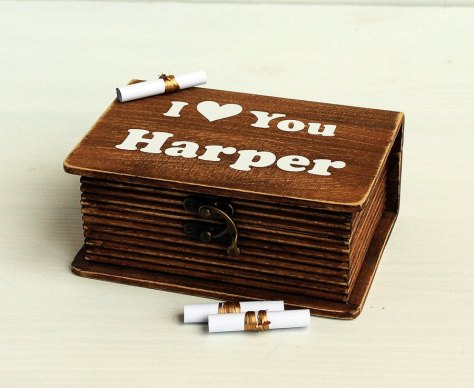 Personalized name box