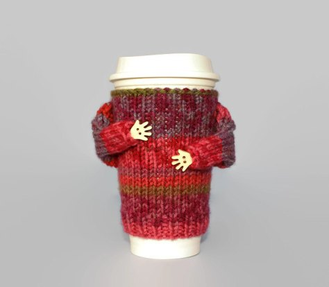 Cozy Coffee Mug Sweater.