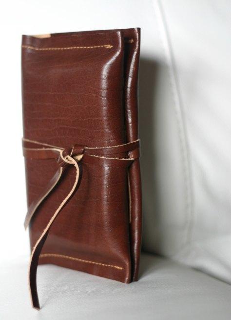 Italian leather cover - phone case