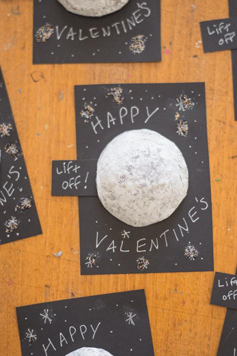Confetti Moon Valentine