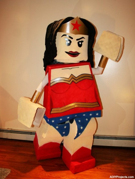 Cute Wonder Woman Halloween Costume
