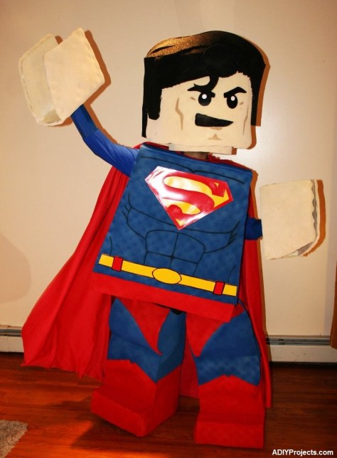 LEGO Superman Halloween Costume