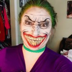 Lady Joker Halloween Makeup Tutorial