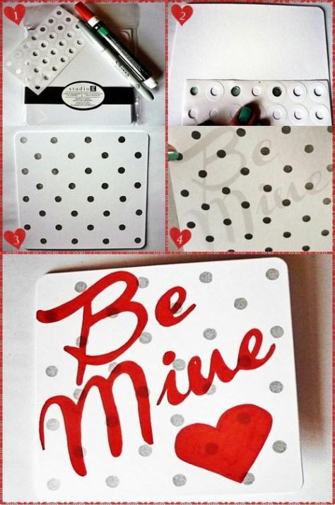 Last Minute Valentine Card