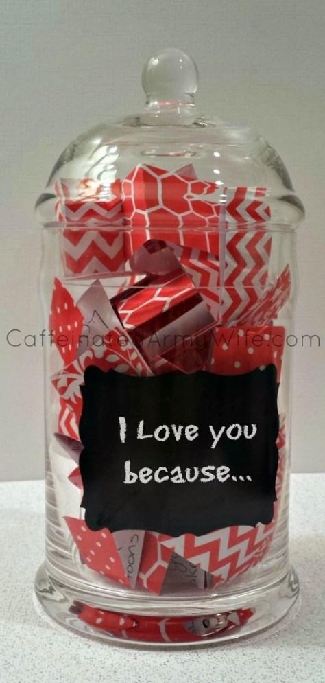 Love Notes Jar for Valentine