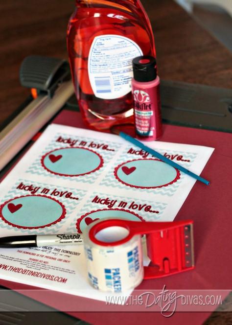Valentine's Day Lotto Ticket