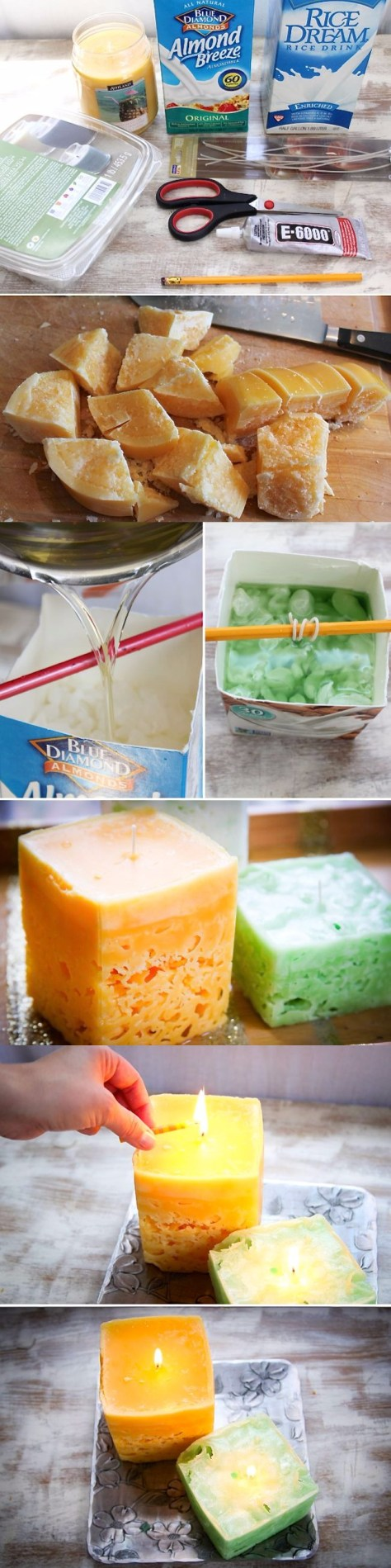 DIY Ice Candles