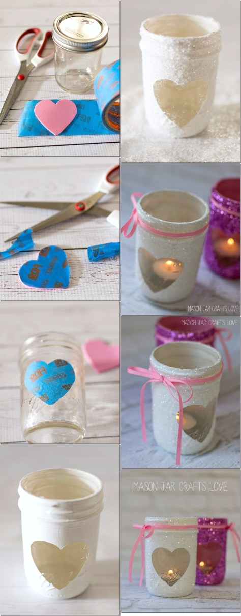 Glitter Votives Tutorial