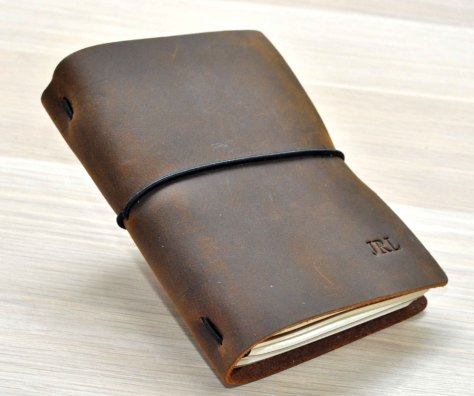 Leather Journal Travelers Notebook
