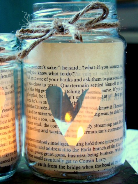 Love Story Candle In A Jar