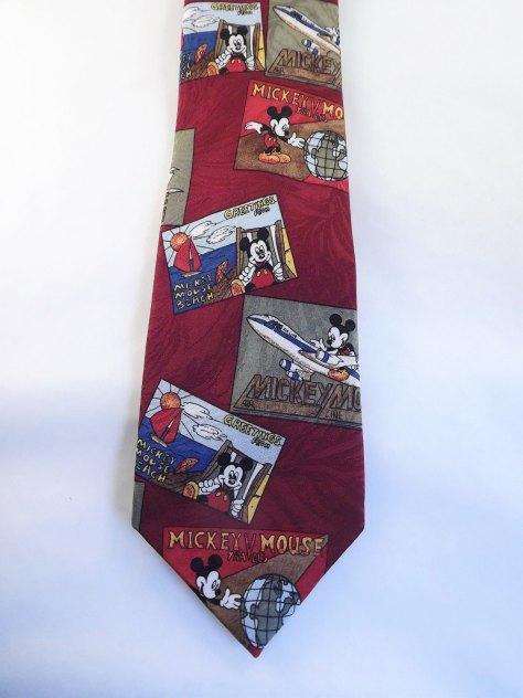 Mickey Mouse World Traveler Necktie