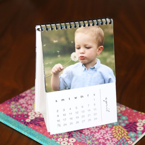 Personalized Mini Photo Calendar