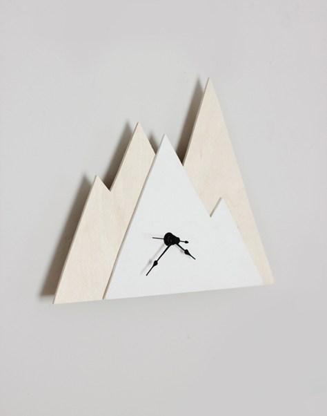 Minimal Mountain Clock