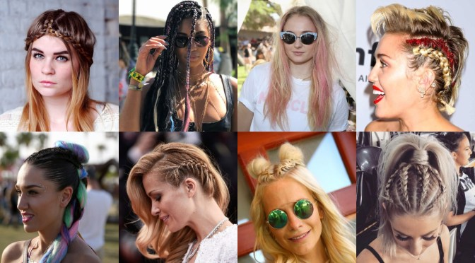 25 Coachella Hairstyles – Get a Stunning & Gorgeous Festival Look