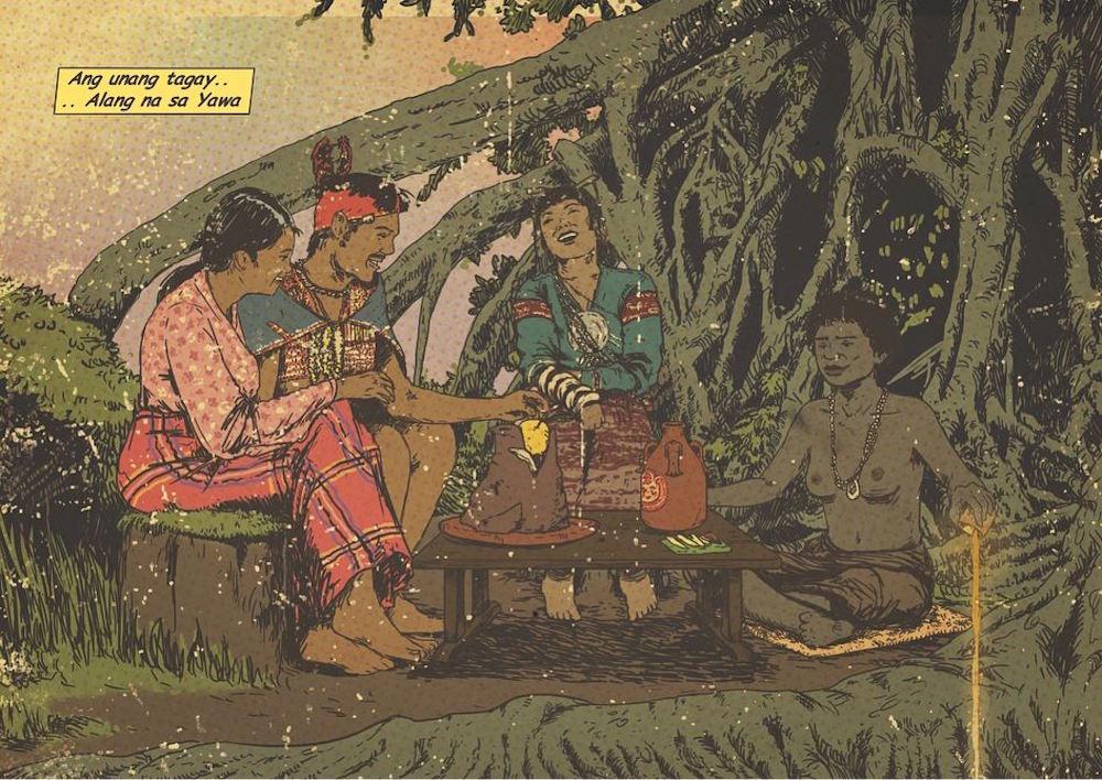 The illustrations of Filipino artist Bastinuod from Cebu