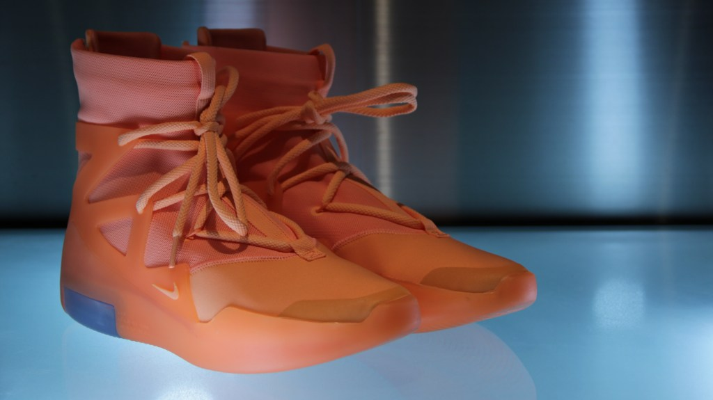 Nike Air Fear of God One Orange Pulse
