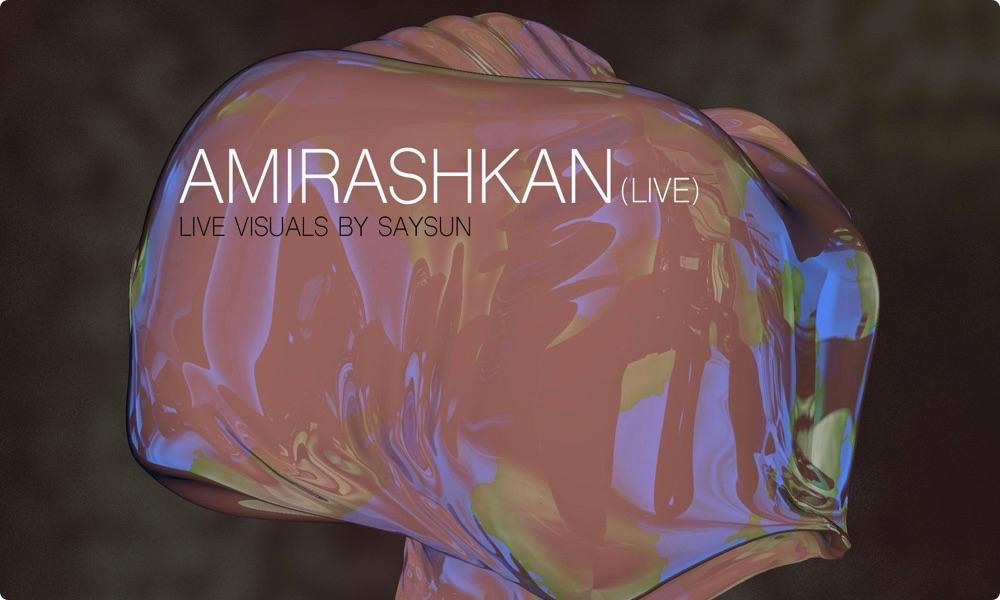 Deep House Tehran Pres. A/V Live Performance Amirashkan
