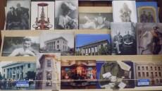 Inexpensive Mini-Art via Postcards photo by Gracie K Harold 2016