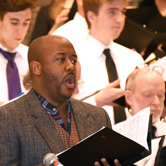 Jorell Williams and the Northern Lights Choir