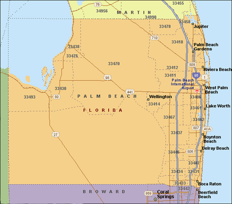 Map Of Cities In Broward County Fl