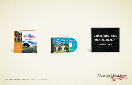 Alberta Libraries Road Trip Ad