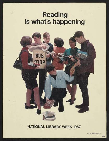 Reading is what's happening / National Library Week (1967)